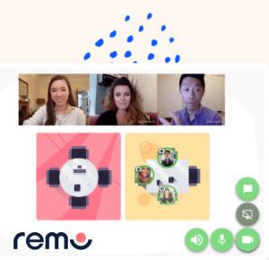 Remo conference platform